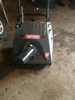 Sears Craftsman 5 HP 2 cycle Electric Start SnowBlower Model 536.88521200