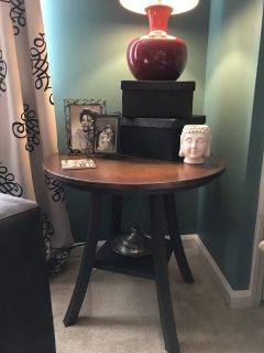 Copper (Patina) Top Side and Accent Tables