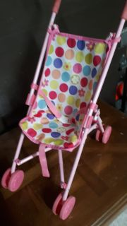 Doll stroller to play