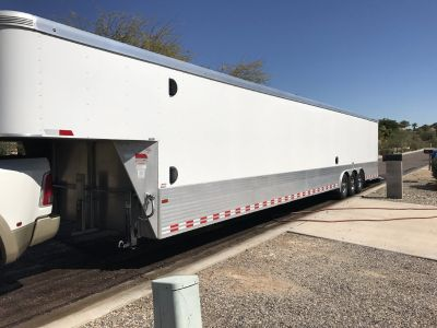 2016 Sundowner 2 car Aluminum Enclosed hauler trailer!!!