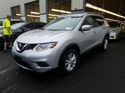 2015 Nissan Rogue AWD SV (Brilliant Silver)