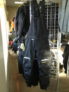 Sell KLIM MEN'S KLIMATE BIB BLACK motorcycle in Bloomer, Wisconsin, US, for US $319.99