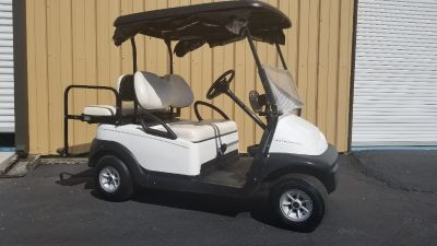 2015 Club Car PRECEDENT FOUR PASS 48V GOLF CART NEW BATTERIES