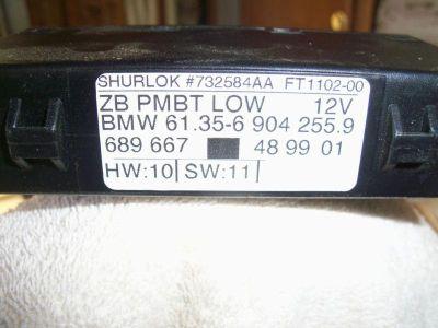 Purchase 1996-03 BMW E38 E39 525i 530i 740i 750iL MIRROR MEMORY CONTROL UNIT 613569042559 motorcycle in Bethlehem, Pennsylvania, US, for US $30.00