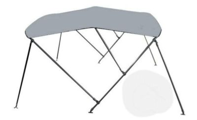 "Buy DELUXE Bimini Top Boat Cover 46"" H x 91""-96"" W 6' LONG. GRAY. 1"" TUBE...NOT 7/8s motorcycle in Burkesville, Kentucky, US, for US $199.99"