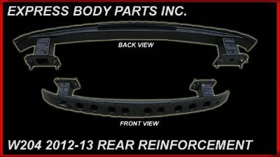 Buy C-CLASS W204 2012-2013 REAR BUMPER REINFORCEMENT BAR REBAR METAL motorcycle in North Hollywood, California, US, for US $155.00