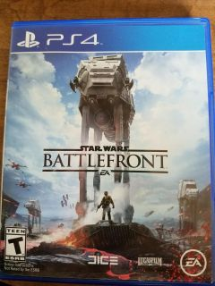 Star Wars Battlefront PS4 pre-owned (2015)