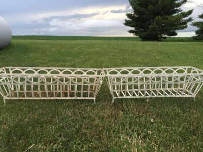 """Metal Plant Bed Stands 29"""" x 9"""""""