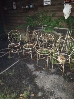 Metal Outside Chairs