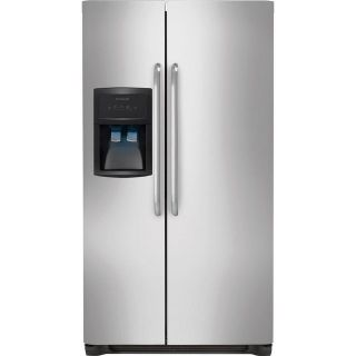 Frigidaire FFHS2311PF 22.1 Cu. Ft. Side-by-Side Refrigerator - Stainless Steel, brand new