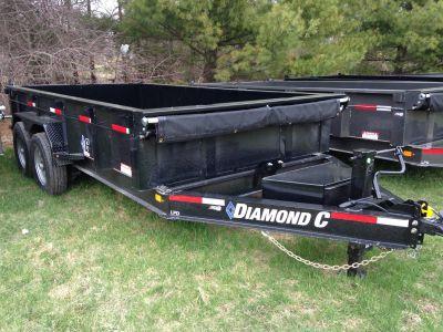 2019 Diamond C LPD207L 14X82 14K DUMP Dump Trailers Elkhorn, WI