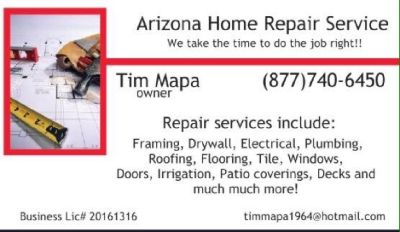 Arizona Home Repair Services