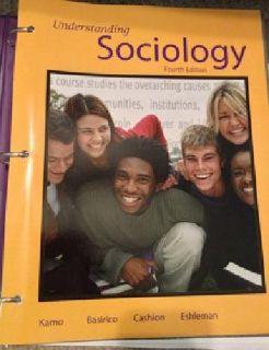 $40 LSU Sociology 2001 Bound Textbook