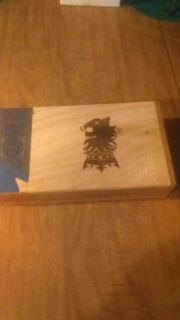 Cigar box, wooden, nice as is or could paint