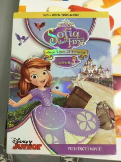 Disney s Sofia the First with Cinderella