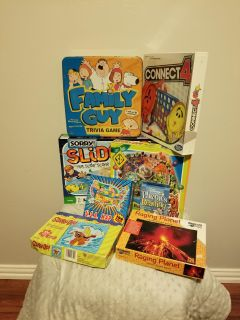 All these 8 games for $10bucks connect 4(new)