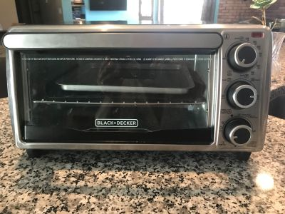 Black & Decker toaster over