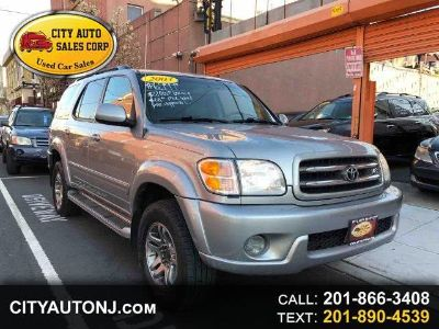 2003 Toyota Sequoia Limited (Silver)
