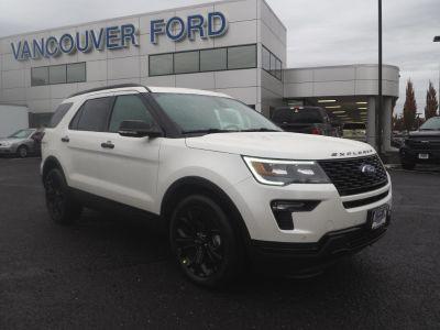 2019 Ford Explorer Sport (white)