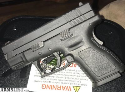 For Sale/Trade: Springfield xd sub-compact 9mm