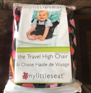Travel high chair seat