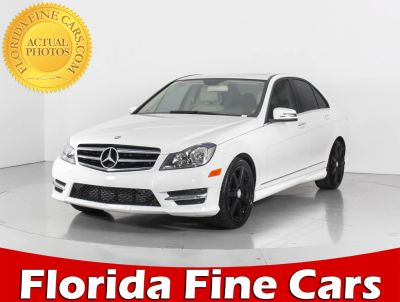2014 Mercedes-Benz C-Class C250 Luxury (White)