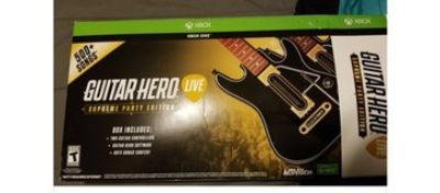 guitar hero double guitar set for xbox one