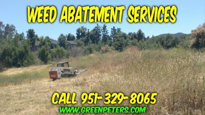Weed Abatement Services in Lake Elsinore