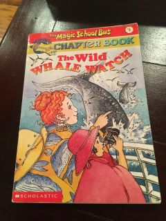 The Magic School Bus Chapter Book - The Wild Whale Watch paperback - code cg