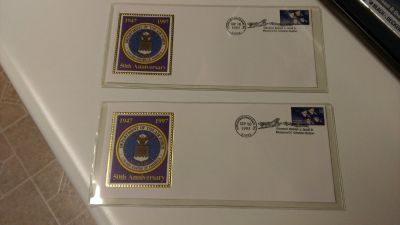 1997 Air Force anniversary stamps