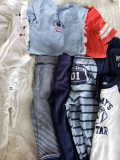 Carters baby boys lot 9 months 6-9