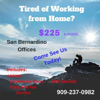 San Bernardino Admin Offices for lease