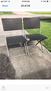 Fold-up Patio Chairs