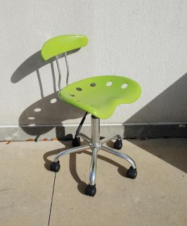 Flash Furniture Neon Apple Green Office Task Tractor Seat Chair