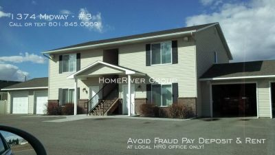 2 Bed 1 bath apartment in Ammon by BMG Rentals