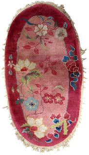 Handmade antique Art Deco Chinese rug, 1B567