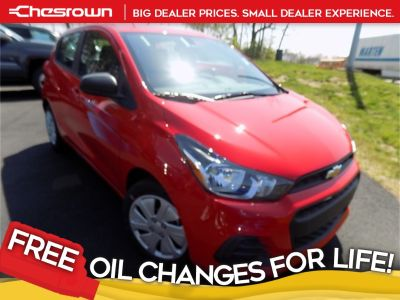 2017 Chevrolet Spark LS (Red Hot)