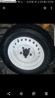 wheels powdercoated white type 2 bay window