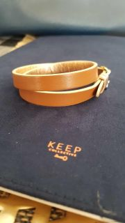 Keep Collective Double Leather Band - New