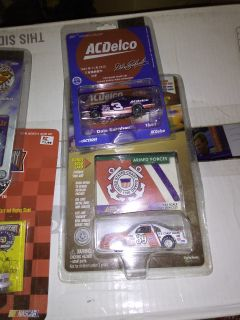 Antique NASCAR still in box and packages