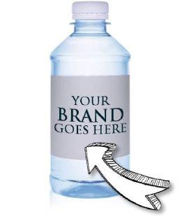 12 oz. Custom Labeled Bottled Spring Water