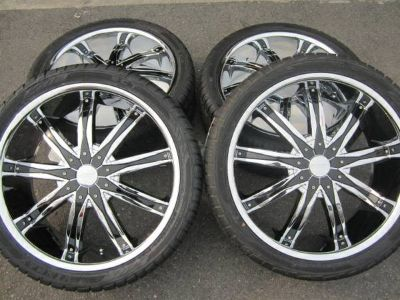 22 rim and tire package.