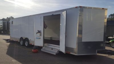 28 Ft. Enclosed Racing Trailer