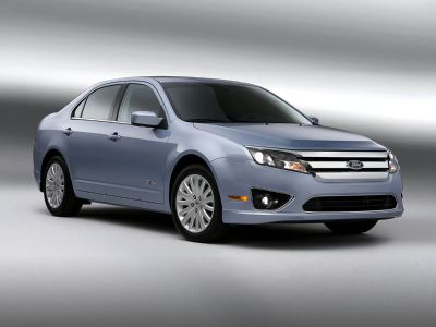 2010 Ford Fusion Hybrid Base (Light Ice Blue Metallic)