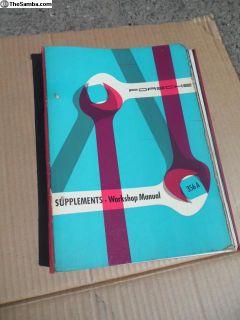 Porsche 356 A Factory Workshop Manual