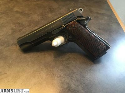 For Trade: 1951 Colt Commander 9mm LW