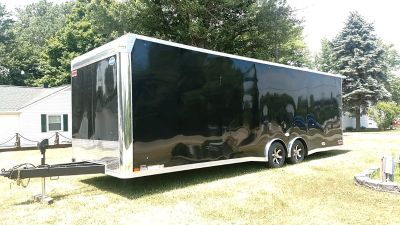 2018 United 28ft race trailer