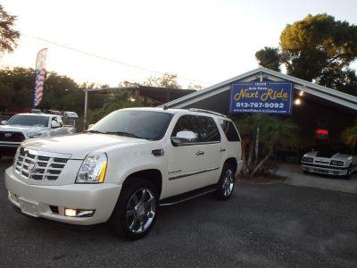 2007 Cadillac Escalade Base (White)