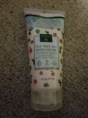 New Tea tree oil gentle foot peel