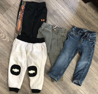 4 pairs of size 2T pants